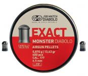 JSB Exact Monster 4.5   400шт